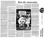 1991-06-06_Nie_kot_nie_zaszczeka-150x129 Niektóre publikacje 1989 - 1993