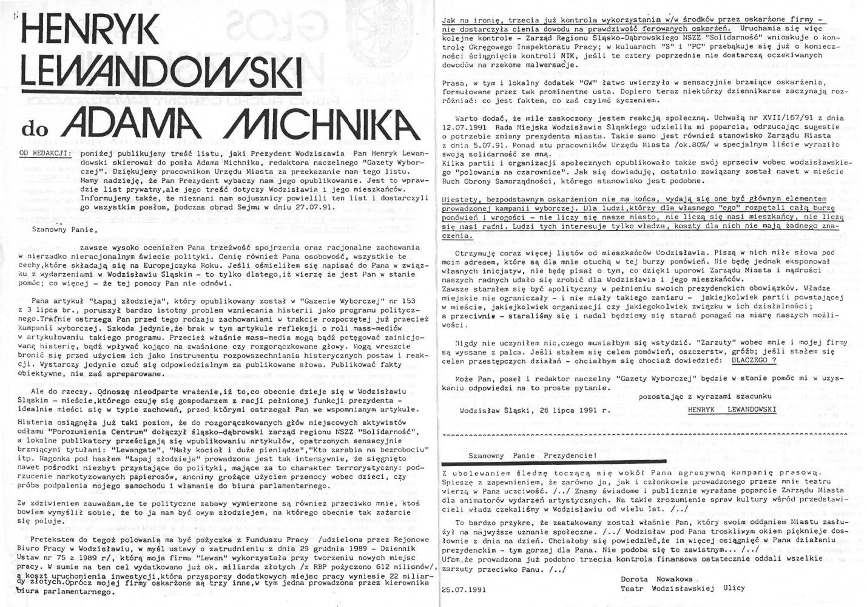 1991-07-30_Glos_Wodzislawia_2 Głos Wodzisławia