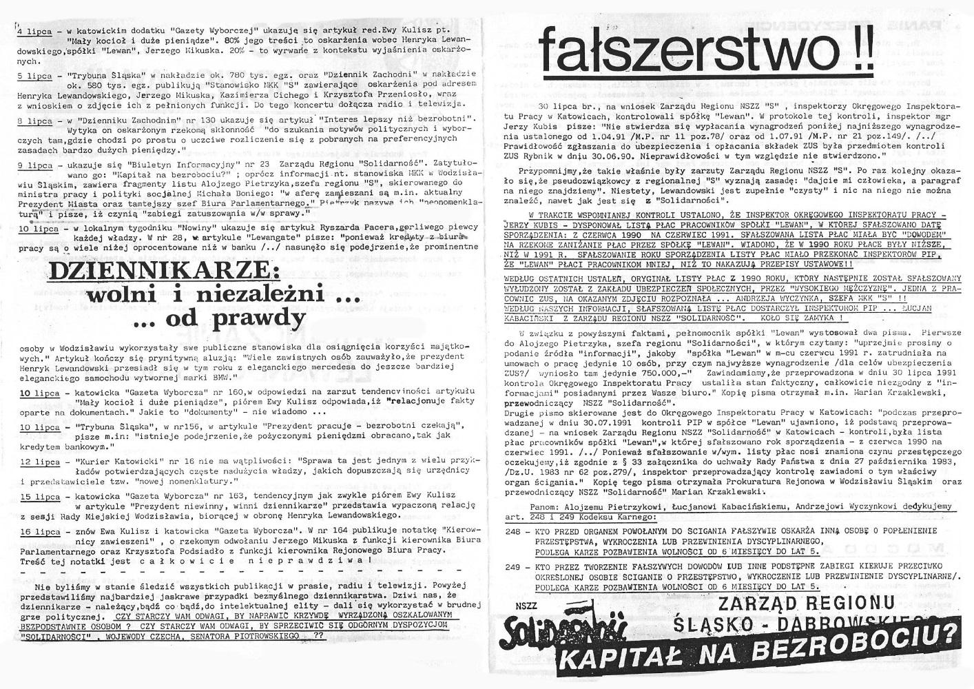 1991-07-30_Glos_Wodzislawia_4 Głos Wodzisławia