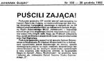 1992-12-30_DSl_Puscili_Zajaca-1-150x89 PALANTY - PUBLIKACJE PRASOWE