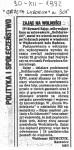 1992-12-30_GW_Zajac_na_wolnosci-1-74x150 PALANTY - PUBLIKACJE PRASOWE
