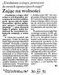 1992-12-30_Rz_Zajac_na_wolnosci-1-118x150 PALANTY - PUBLIKACJE PRASOWE