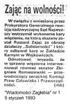 1993-01-05_WZ_Zajac_na_wolnosci-1-101x150 PALANTY - PUBLIKACJE PRASOWE