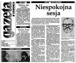 1993-11-02_GW_Niespokojna-sesja-150x124 Sejm - prasa 1993