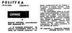 90-12-01_Polityka_opinie-150x68 Niektóre publikacje 1989 - 1993
