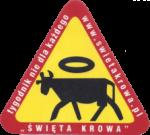 """logo tygodnika """"Święta Krowa"""""""